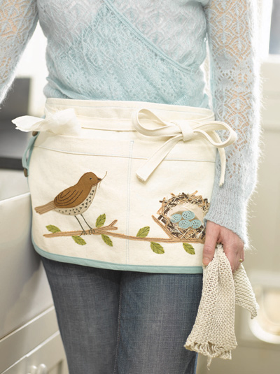 Small apron, photo by Sian Irvine