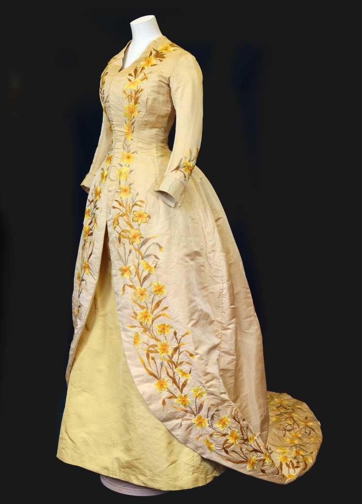 Daffodil dress. Image c/o The American Museum