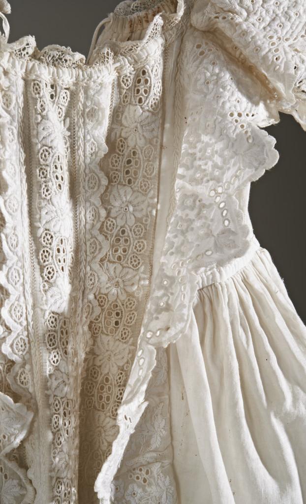 Christening robe, c. 1890 c/o Jersey Museum
